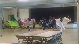 Dance class at the Quinn Center