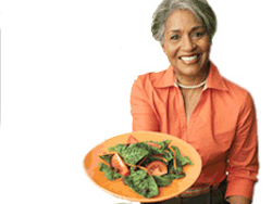 woman-offering-healthy-food